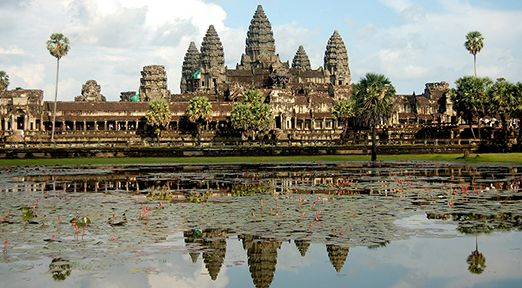 Top destination angkorwat